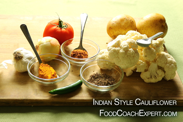 Indian Style Cauliflower